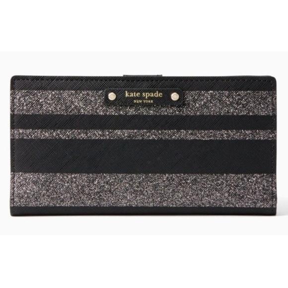 fd67d20b6a370 Kate Spade Stacy Haven Lane Stripes Wallet